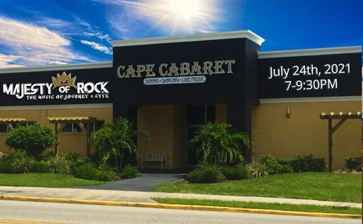 Date changed to July 2, 2021 Majesty of Rock @ Cape Cabaret, 24 July   Event in Cape Coral   AllEvents.in