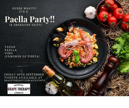 Paella Party (and Grenache Day)