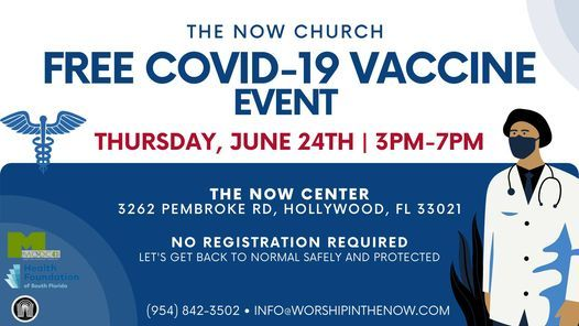 Free COVID Vaccination Pop-up Event, 24 June   Event in Hollywood   AllEvents.in