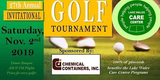 Lake Wales Care Center >> 27th Annual Lake Wales Care Center Golf Tournament Lake Wales