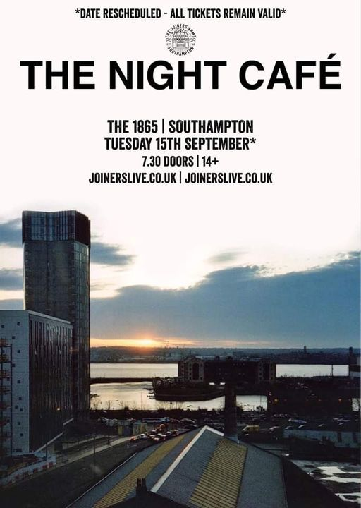 The Night Cafe & Sunship Balloon & On Video at The 1865, 19 May | Event in Southampton | AllEvents.in