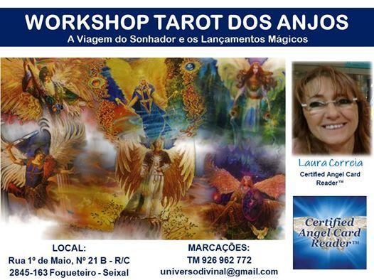 Seixal  Workshop Tarot dos Anjos  A Viagem do Sonhador