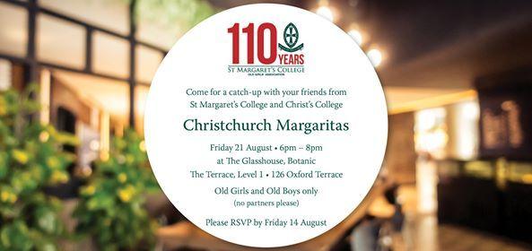 Christchurch SMC Margaritas & CC YOBs drinks - Friday 21 August