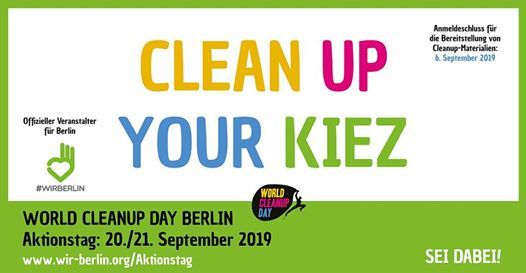 World Cleanup Day Berlin