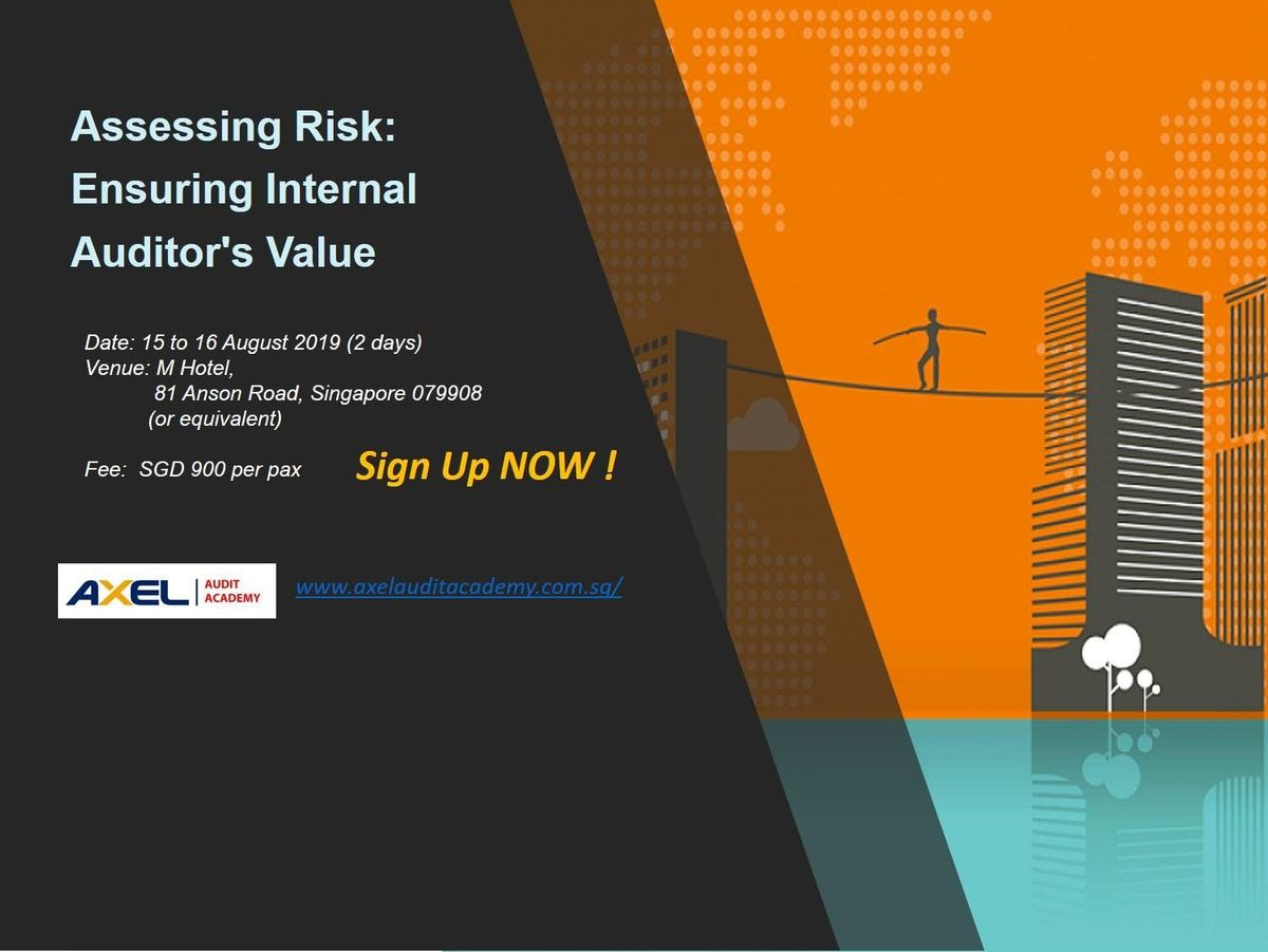 Assessing Risk: Ensuring Internal Auditors Value at M Hotel