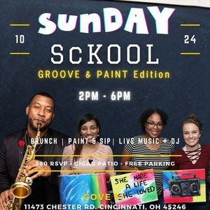 sunDAY ScKOOL the GROOVE & PAINT Day Party