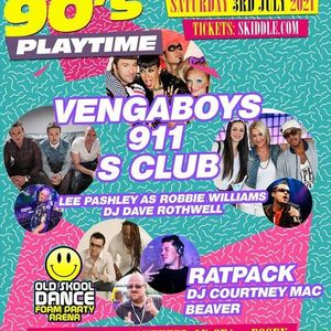 90s Playtime featuring Vengaboys