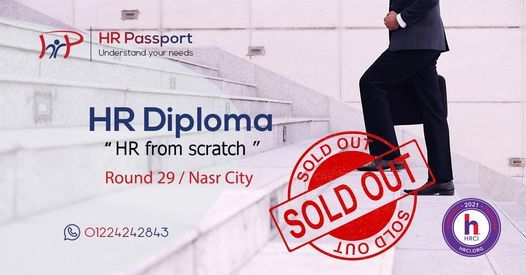 """HR Diploma """"HR from scratch""""/ R 29 / Nasr City 