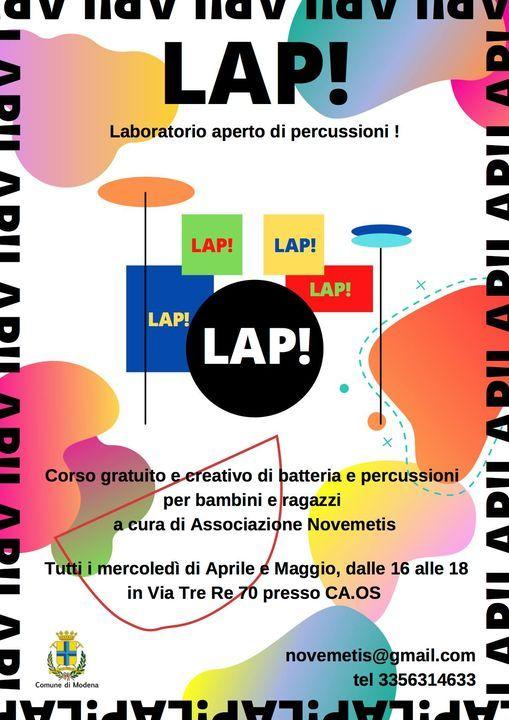 LAP! laboratorio aperto di percussioni | Event in Modena | AllEvents.in