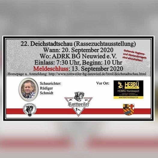 22. ADRK Deichstadtschau 2020 20. Sepember 2020