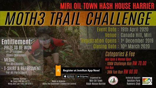 Moth3 Trail Challenge