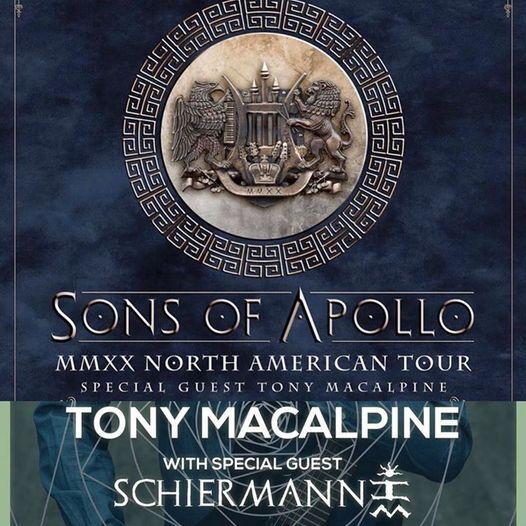 Tony MacAlpine, 19 April | Event in Dublin | AllEvents.in