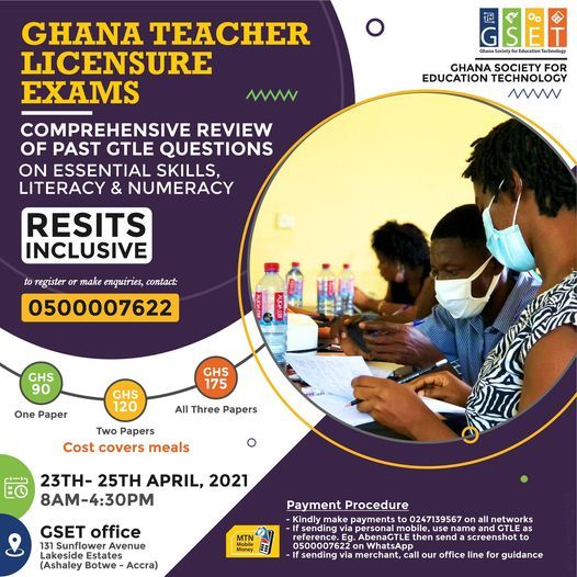 Ghana Teacher Licensure Exams Prep Workshop, 23 April | Event in Cape Coast | AllEvents.in