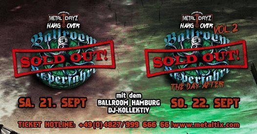 Ballroom Hamburg - Hangover-Kaperfahrt  SOLD OUT