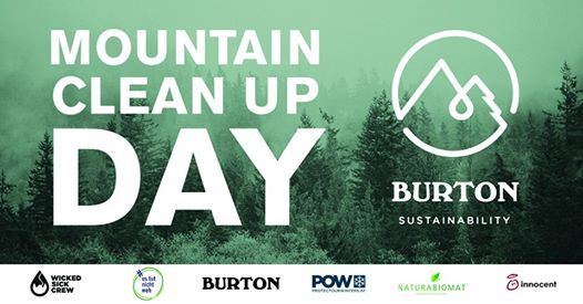 Burton Mountain Clean Up Day Semmering