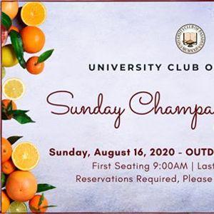 Sunday Champagne Brunch - August 16