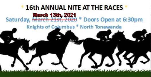Nite at the Races - Updated - March 13, 2021, 13 March | Event in North Tonawanda | AllEvents.in
