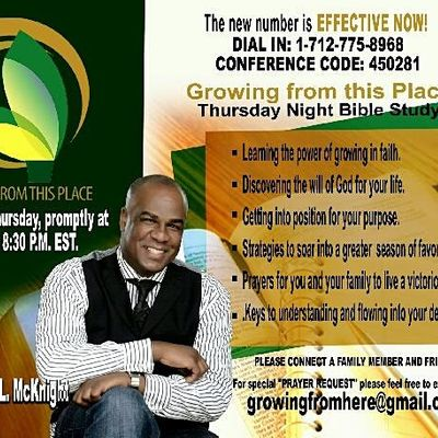 "&quotGrowing From This Place"" Conference Call With Dr. Jonathan McKnight"