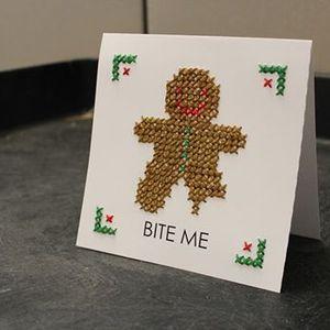 Art & Sip Cross Stitch Cards
