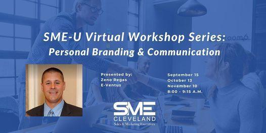 SME-U Virtual Workshop Series: Personal Branding & Communication, 8 December   Online Event   AllEvents.in