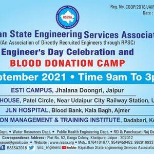 Engineerss Day Celebration & Blood Donation Camp