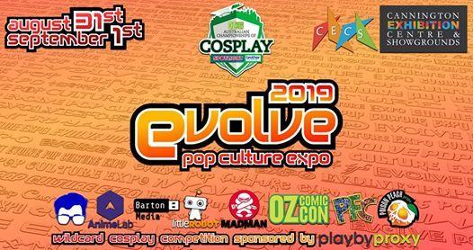 Evolve Pop Culture Expo 2019