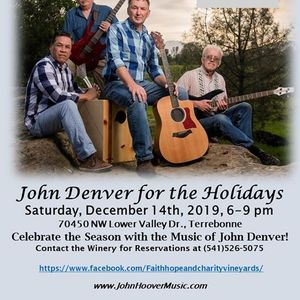 Live at the Vineyard John Hoover and The Mighty Quinns
