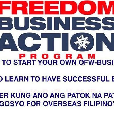 Freedom Business Action Program for OFWs