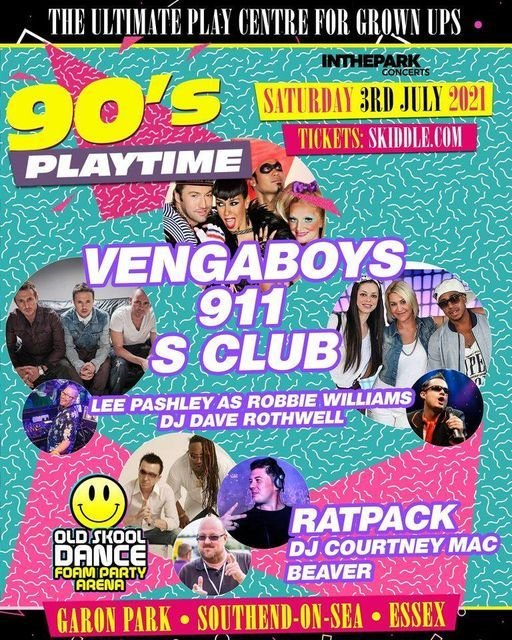 90's Playtime' featuring Vengaboys, 3 July | Event in Harrow | AllEvents.in