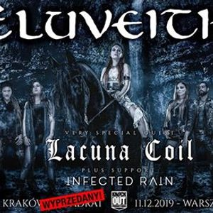 Wyprzedany Eluveitie  Lacuna Coil  10 XII  Krakw