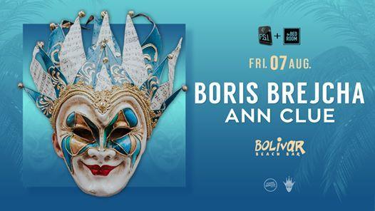Boris Brejcha I Ann Clue I Fri 7 August I Bolivar Beach Bar