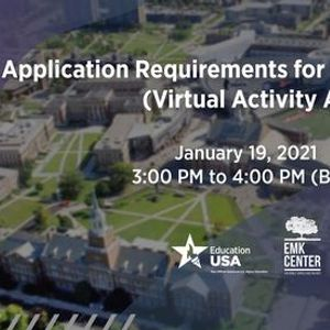 Application Requirements for U.S. University