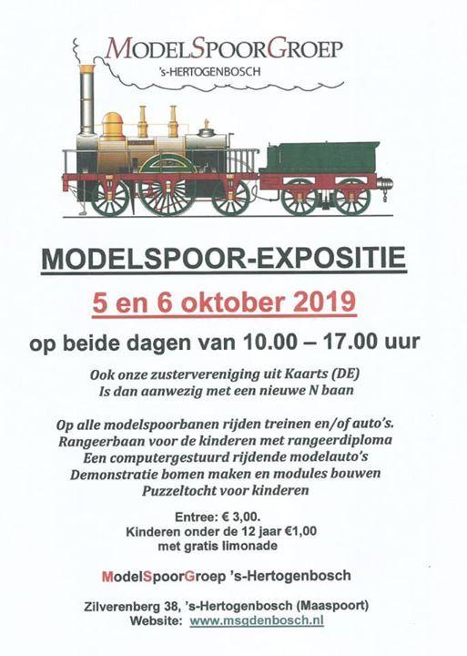 Modelspoor-Expositie