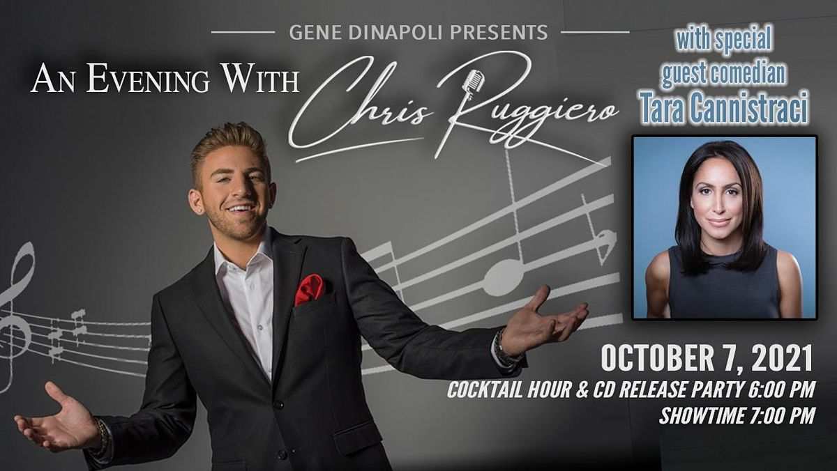 An Evening with Chris Ruggiero and Tara Cannistraci, 7 October   Event in Yonkers   AllEvents.in