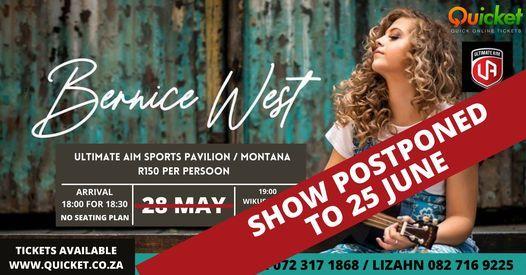 BERNICE WEST & WIKUS BOTMA, 28 May   Event in Pretoria   AllEvents.in