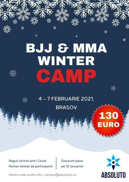 Absoluto Winter Camp 2021, Roots System BJJ, Brasov ...