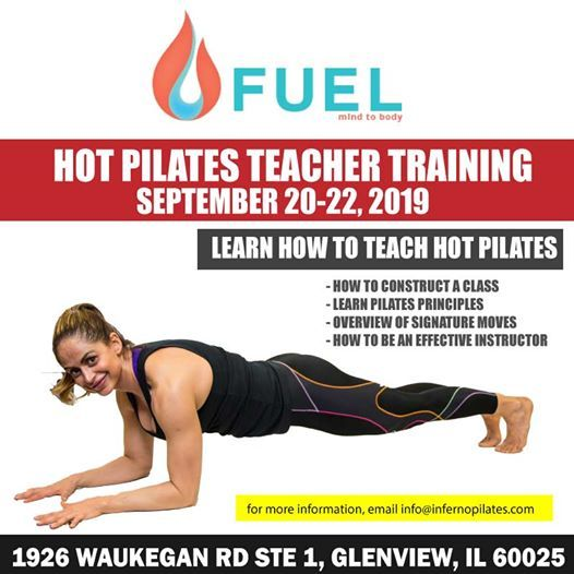 Teacher Training Inferno Hot Pilates Level I