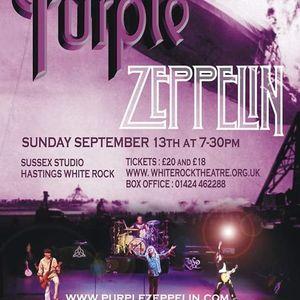 Purple Zeppelin  Sussex Studio Hastings White Rock