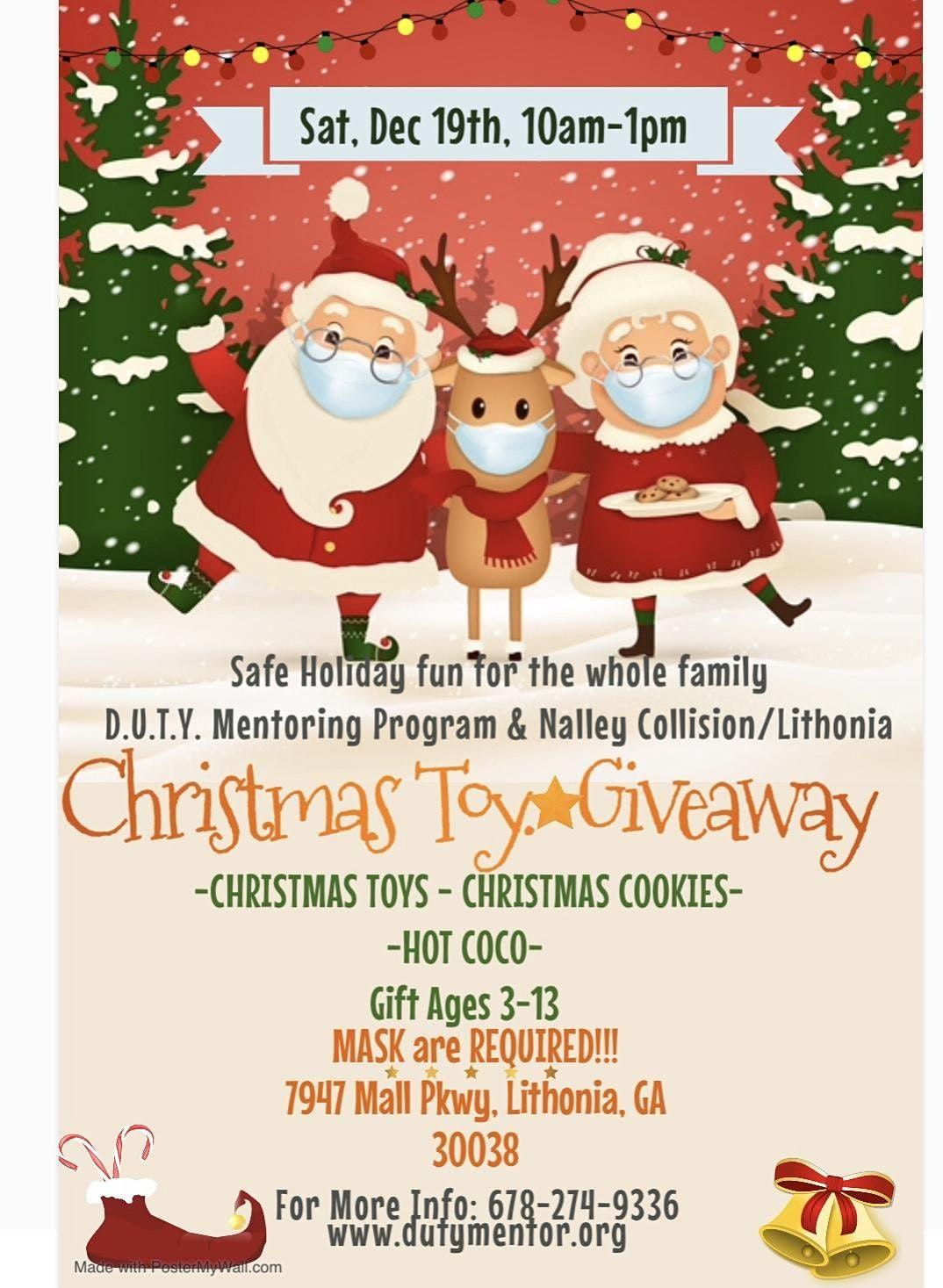 Christmas Toy Giveaway 2021 Christmas Toy Giveaway Nalley Collision Center Lithonia Stonecrest December 19 2021 Allevents In