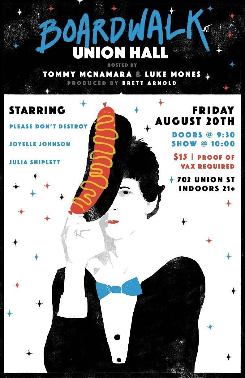 Boardwalk Comedy with Luke Mones and Tommy McNamara, 20 August | Event in Brooklyn | AllEvents.in