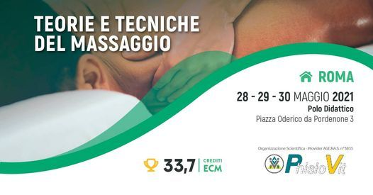 Teorie e Tecniche del Massaggio, 28 May | Event in Rome | AllEvents.in
