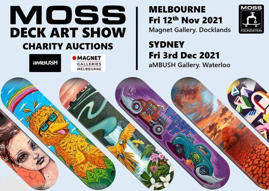MOSS Deck Art Show SYDNEY 2021, 3 December   Event in Marrickville   AllEvents.in