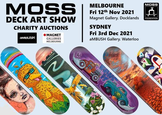 MOSS Deck Art Show SYDNEY 2021, 3 December | Event in Marrickville | AllEvents.in