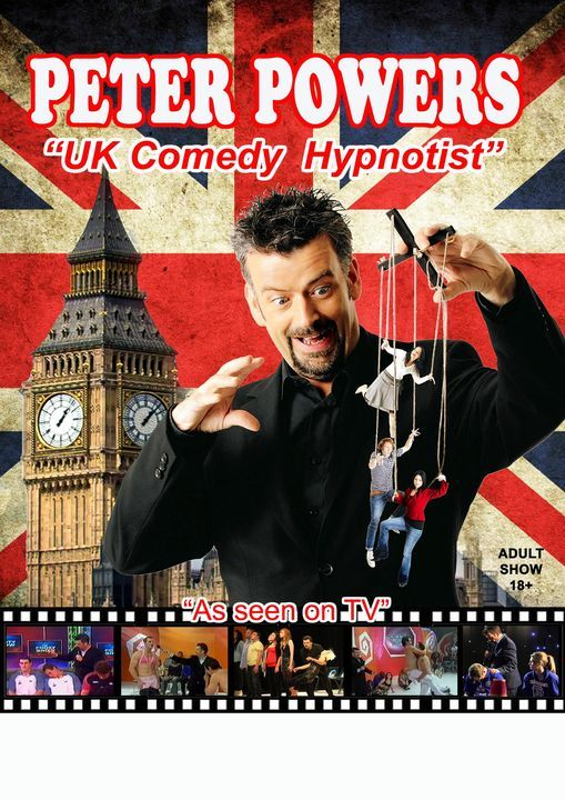 Peter Powers UK's Comedy Hypnotist, 28 August | Event in Castle Hill | AllEvents.in
