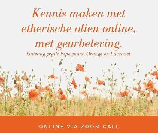 Online Workshop maak kennis met etherische olien | Online Event | AllEvents.in