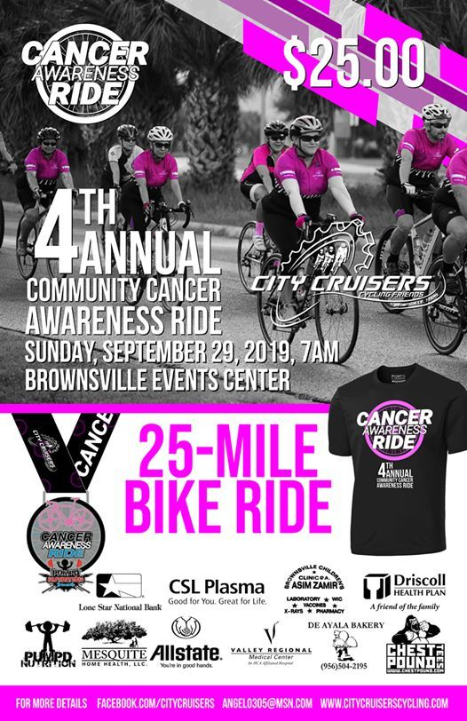 4th Annual Community Cancer Awareness Ride