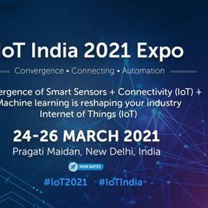 IoT India 2021 expo