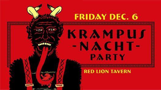 Krampusnacht at the Red Lion Tavern