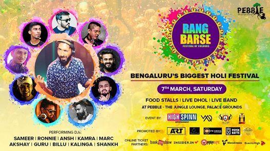 RANG BARSE - Holi Festival in Bengaluru