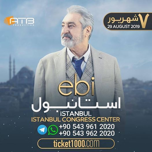 Ebi - Live in Istanbul - August 29th 2019